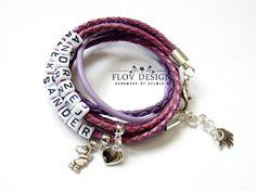 flov design: personalized bracelet