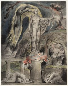 The Shrine of Apollo: Milton's Hymn on the Morning of Christ's Nativity - William Blake