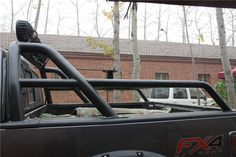 With markroad Roll Bar installed on F-150 FX4
