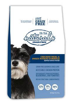 Hi-Tek Naturals Grain Free Chicken Meal and Sweet Potato formula