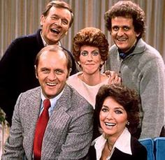 "The Bob Newhart Show--I preferred ""Newhart"" with the country inn to The Bob Newhart Show, but I do love Bob Newhart."