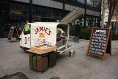 Jamie Oliver's mini food truck