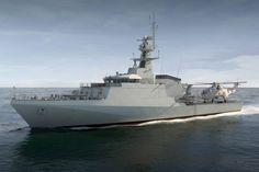 Computer Generated Image of the new Offshore Patrol Vessel (OPV). Royal Navy Image The U.K. Ministry of Defence has signed a 287 million pound ($360 million) contract with BAE Systems to build two more Royal Navy Offshore Patrol Vessels (OPVs) in Scotland.