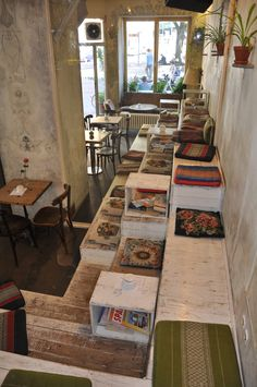 """An einem Sonntag im August""  Café  Berlin"