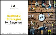 How can you make your business website rank higher in search engine results? We are here to discuss basic SEO strategies for beginners. Seo Strategy, Design Strategy, Seo For Beginners, Website Ranking, Business Website, Search Engine, Marketing