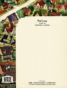 Paul Long Letterhead