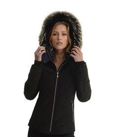 Keeping cosy on a Monday! Black Ski Jacket, Ski Jackets, Winter 2017, Cosy, Beauty, Style, Fashion, Swag, Moda