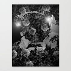 floral space program Canvas Print by boxfox Surreal Artwork, Space Program, Canvas Prints, Art Prints, Astronaut, Surrealism, Originals, Modern Art, Photoshop