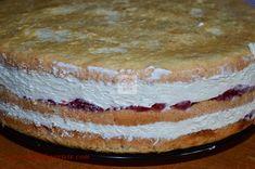 Tort Raffaello cu zmeura - CAIETUL CU RETETE Romanian Food, Food Cakes, Vanilla Cake, Cake Recipes, Cheesecake, Cooking Recipes, Sweets, Candy, Cappuccinos