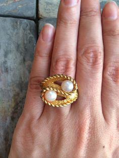 Vintage Ring by LunaSavita on Etsy