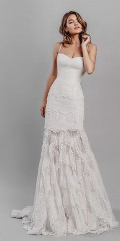 Strapless Wedding Dresses stephanie allin wedding dresses sheath with straps lace rustic 2019 - Stephanie Allin wedding dresses are simple and at the same time so cute. Everybody will admire your dress and you. Look amazing dress ideas for inspiration! Colored Wedding Gowns, Big Wedding Dresses, Western Wedding Dresses, Luxury Wedding Dress, Bohemian Wedding Dresses, Princess Wedding Dresses, Cheap Wedding Dress, Bridal Dresses, Fancy Dresses For Weddings