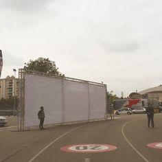GRAFFITI de 64 m2 pel FCB !!! Mirad el Barça Eibar y veréis el resultado!!! #graffporn #graffitilive #graff #graffiti #graffitibcn #axecolours #fcb #llibertat #llibertatdexpressio #freedom #campnou #barça #barcelona #streetart #streetartbcn #urbanart #uefa #estelades #respecte #llibertat #thanks by axe_colours