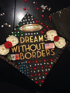 Mexican/American Graduation Cap. BSN RN