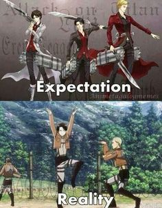 Find images and videos about funny, anime and attack on titan on We Heart It - the app to get lost in what you love. Attack On Titan Meme, Attack On Titan Fanart, Attack On Titan Ships, Aot Memes, Funny Memes, Aot Funny, Hiro Big Hero 6, Captain Levi, Animes Wallpapers
