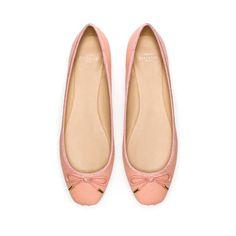 ZARA BALLERINA  Ref. 3224/201    Height of heel: 0,9 cms./ 0,35 inches.  5,995.00 HUF