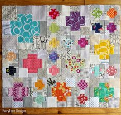 Ive been working away on the little blocks for this mini quilt for the last few weeks. I had the...