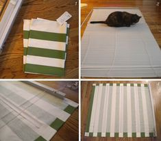 hooray: no-sew shade diy