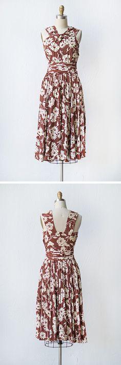 vintage 1940s dress | Wildwood Promises Dress