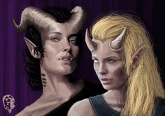 Shadowrun female Troll Rigger Artwork by harliquin