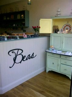 Lovely counter Beas of Bloomsbury
