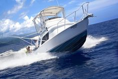 Deep Sea Sport Fishing Antigua in Long Bay Grand Cayman Island, Cayman Islands, Western Caribbean, Caribbean Sea, Booby Bird, Sea Sports, Fishing Charters, Sport Fishing, Mountain Range