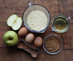 How To: Homemade Natural Dog Treat Recipe, Fresh Apples | 17 Apart: How To: Homemade Natural Dog Treat Recipe, Fresh Apples