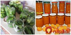 Máme pre vás pár perfektných rád, ktoré pri zaváraní domácich dobrôt využije každý!  Rada, s ktorou vám nepokazí ani jeden pohár      Stalo sa vám, že pri zaváraní vám viečko na pohári nechytilo. Máme perfektný trik, s ktorým Rodin, Hot Sauce Bottles, Vegetables, Food, Syrup, Meal, Essen, Vegetable Recipes, Hoods