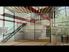 Cargo Container Home Interiors, Shipping Container Houses - YouTube