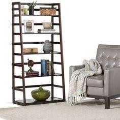 WYNDENHALL Normandy Ladder Shelf Bookcase By WyndenHall. Ladder  BookcaseBookshelvesFurniture OutletOnline ...