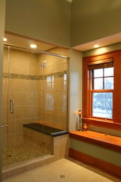 Master Bathroom Tile Shower Design Ideas, Pictures, Remodel, and Decor - page 2