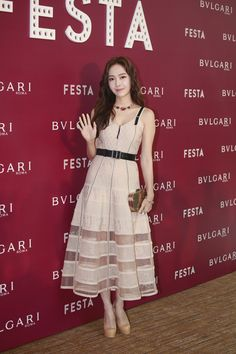 Jessica attended Bvlgari's event in Hong Kong Jessica Jung Instagram, Jessica Jung Snsd, Jessica Jung Fashion, Jessica & Krystal, Jessica Jung Style, Krystal Jung Fashion, Krystal Fx, Jessica Jung Wonderland, Celebrity Moms