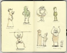 Authors as true selfs. By Mattias Adolfsson.