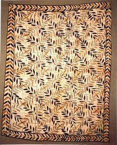 Tapa Samoa Barkcloth, Late 19th century  hurstgallery.com