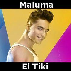 Acordes D Canciones: Maluma - El Tiki