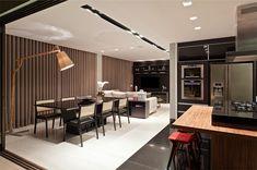 Decoração de: Sala de estar - living integrado; Casa de Valentina
