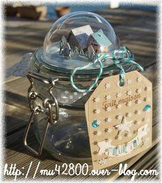 Déco demie boule transparente