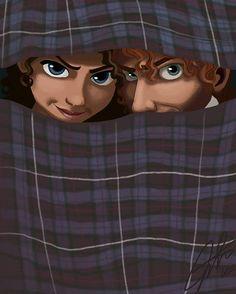 """""""If Outlander was a Disney Movie""""... CUTE!!!"""