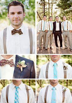 groom tie ideas (Source:Well Groomed) @ http://www.ModernRani.com