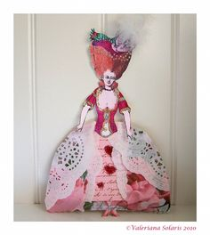 Marie Antoinette Paper Doll 2 by                 ValerianaSolaris on deviantART
