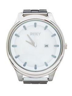 <3 ! Roxy Mistress Watch in Silver