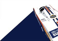 Graphic Design X Classic Race Cars