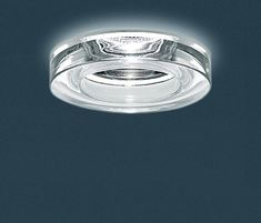 The Iside 2 LED Recessed Light from Leucos is designed by Roberto Pamio. This small-scale, semi-recessed fixture provides a downward light through an acid-etched, poured glass diffuser and is available in a wide range of colors. Depending on the l. Ceiling Light Design, Lighting Design, Ceiling Lights, Staircase Lighting Ideas, Glass Diffuser, Textured Walls, Stairways, Light Up, Beams