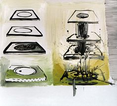 Flow   Artia Gallery Flow, Paintings, Gallery, Paint, Roof Rack, Painting Art, Painting, Painted Canvas, Drawings