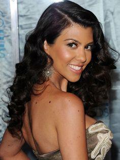 i want to have kourtney kardashian hair for your wedding.
