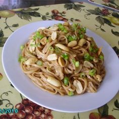 Peanut Butter Noodles -- skip the udon noodles, use vermicelli or thin spaghetti.  Udon noodles are rubbery.