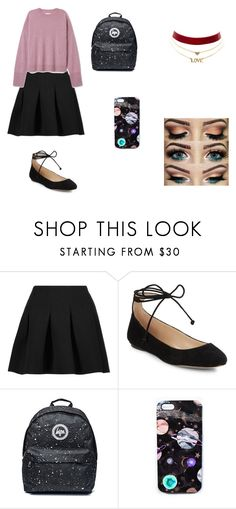 """""""berbena"""" by clarallado on Polyvore featuring T By Alexander Wang, Karl Lagerfeld, Nikki Strange and Charlotte Russe"""