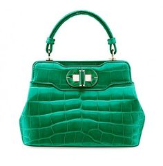 Bulgari borse Primavera/Estate 2014 - #handbag #green #bags #bag