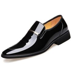 Design Patent Leather Oxford Shoes For Men Dress Shoes, Formal Shoes size 37-48