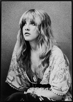 Because I've been listening to so much Fleetwood Mac lately...Stevie Nicks, 1970s.