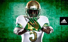 1e2341171 Notre Dame Football Unveils Its Flashy New  Shamrock Series  Uniform